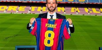 Si jugaba en otro equipo distinto a la Juve, solo podía ser el Barça, dice Pjanic en su presentación