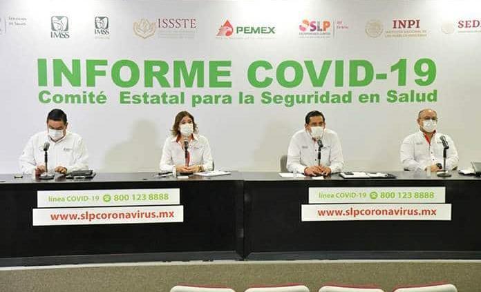 SLP, con 171 nuevos casos de coronavirus