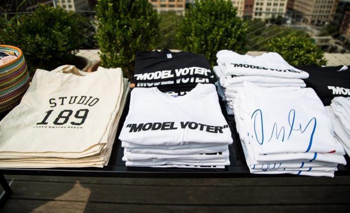 La moda de EE.UU. se vuelca en las elecciones presidenciales