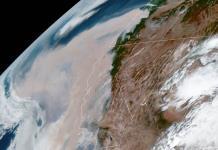 Satélites muestran que humo de incendios en EEUU llega a Europa