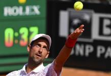 Djokovic debuta con triunfo en Roma