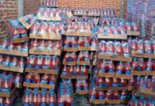 Roban mil 300 cajas de bebidas clamato, valuadas en 256 mil pesos