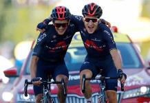 Kwiatkowski gana de la mano de Carapaz y Roglic sigue líder en el Tour de Francia