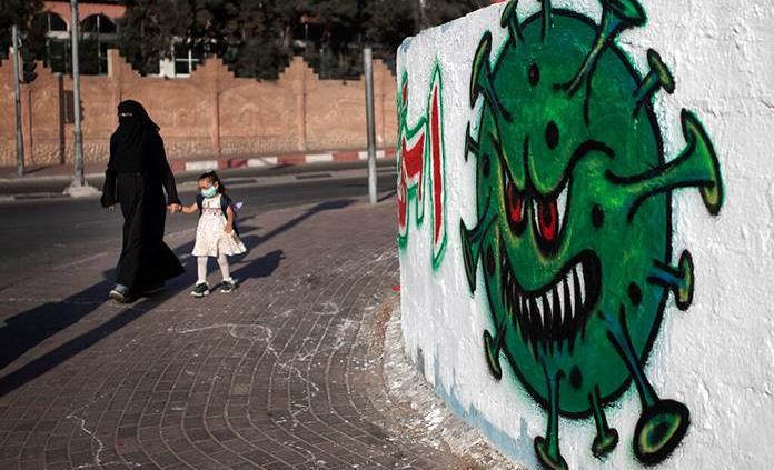 Denuncian que Gaza afronta la COVID-19 con escasez de agua y fármacos