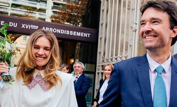 La modelo Natalia Vodianova y el heredero de LVMH Antoine Arnault se casan en París