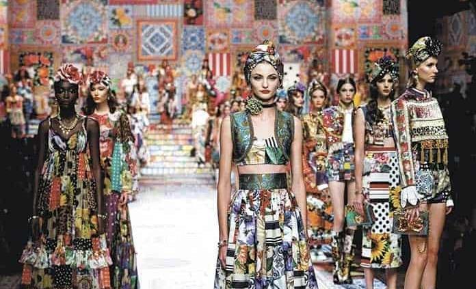 Dolce&Gabbana, explosión de patchwork en su colección
