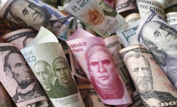 Peso mexicano, la moneda que más perdió esta semana