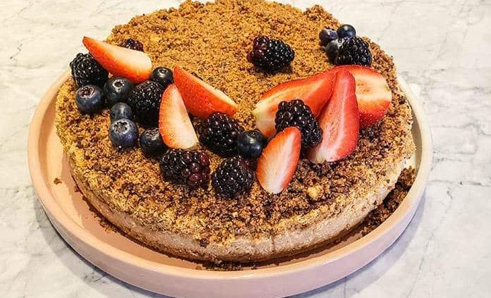 Para celebrar el Día Mundial del Café, una receta de tarta de la chef Gaby Ruiz