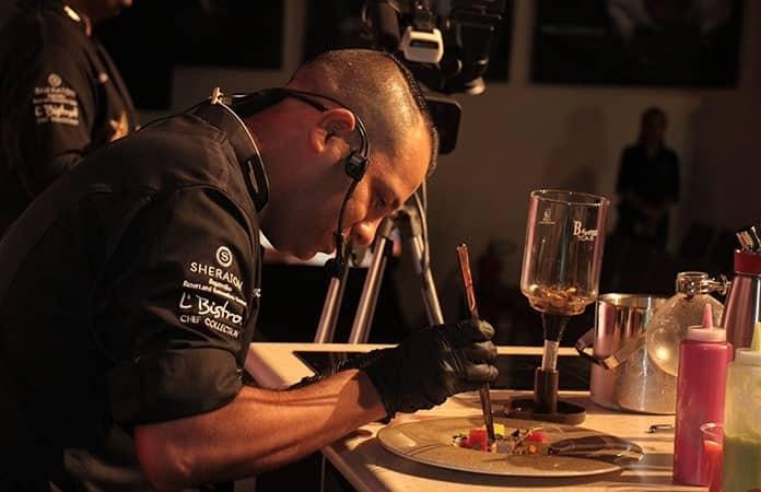 Oscar Huerta, chef del Sheraton, hotel sede.