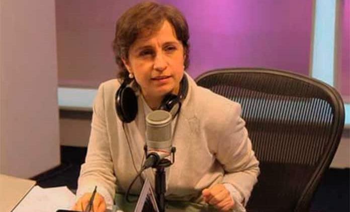 Estoy en calidad de víctima, no testigo: Aristegui sobre espionaje