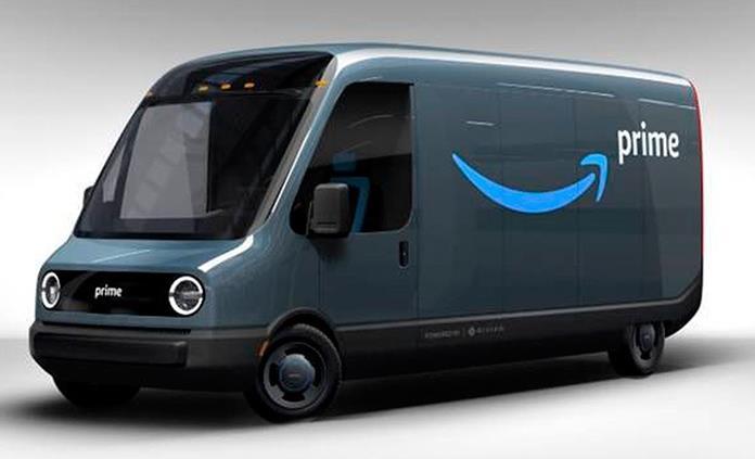 Amazon presenta su primera furgoneta totalmente eléctrica, hecha por Rivian