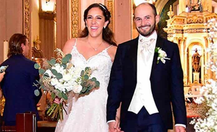Alejandra Garelli Mahbub y Alberto de la Paz Navarrete celebran felices sus esponsales