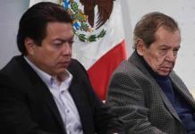 INE baja propaganda de Muñoz Ledo y Delgado