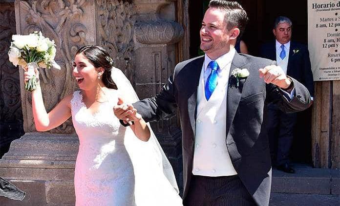 Paola Córdova González y Juan Alberto Autrique Echeveste unen sus destinos