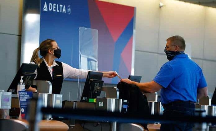 Delta pierde 5 mil 380 millones de dólares por la pandemia