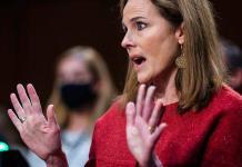 La jueza propuesta por Trump evita pronunciarse sobre el aborto, las armas y la religión