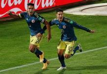 Falcao rescata empate 2-2 para Colombia en Chile