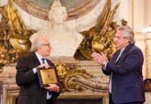 Argentina y el papa homenajean a Pérez Esquivel por los 40 años de su Nobel