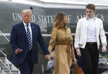 Barron había dado positivo a COVID-19, informa Melania Trump