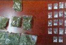 Arrestan a cuatro jóvenes con droga