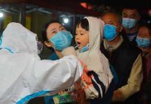 Ciudad china no halla más contagios tras 11 millones de pruebas