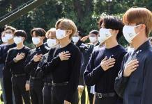 China contra banda BTS
