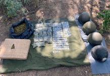 Ejército incauta drogas, equipo táctico y vehículo