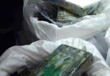 Semar asegura 800 kilos de cocaína dentro de costales en Chiapas
