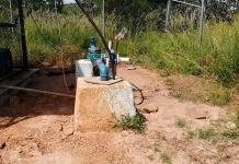 Vecinos de San José de las Flores  bloquean pozo
