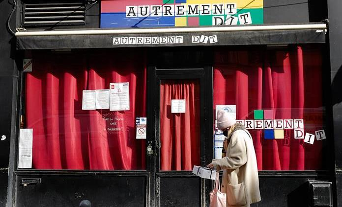 Francia compensará con 1,000 millones de euros a las empresas por el toque de queda