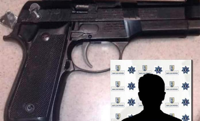 Menor asaltaba con pistola de juguete