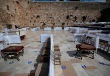 El Muro de las Lamentaciones se prepara para el regreso de fieles