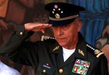 Imputarán al general Cienfuegos por cinco cargos relativos a narcotráfico