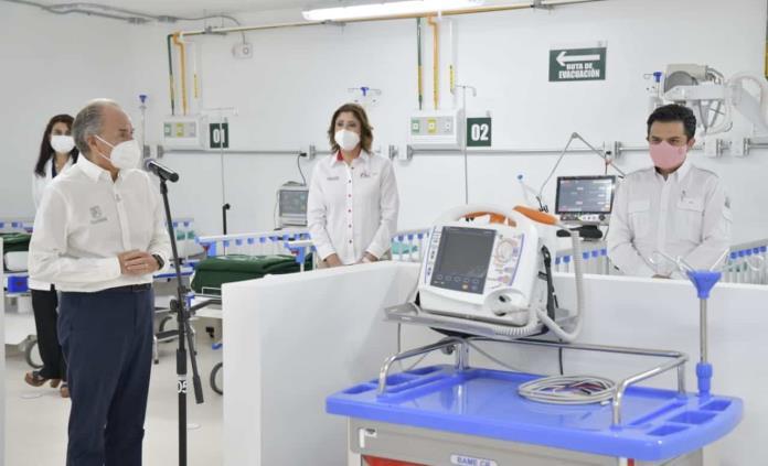 Inicia operaciones Hospital de Convalecencia del IMSS para pacientes Covid  en SLP
