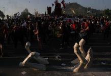 Estallido social chileno de estudiantes cumple un año
