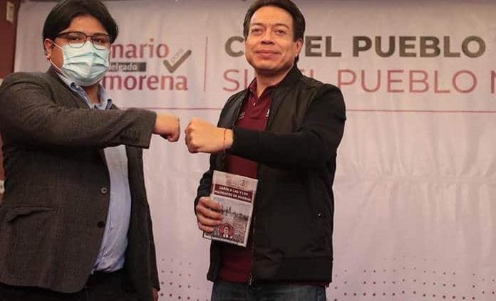 Gibrán se une a Mario Delgado en contienda