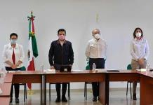 JMC Y Zoé Robledo ponen en operación hospital Covid-19