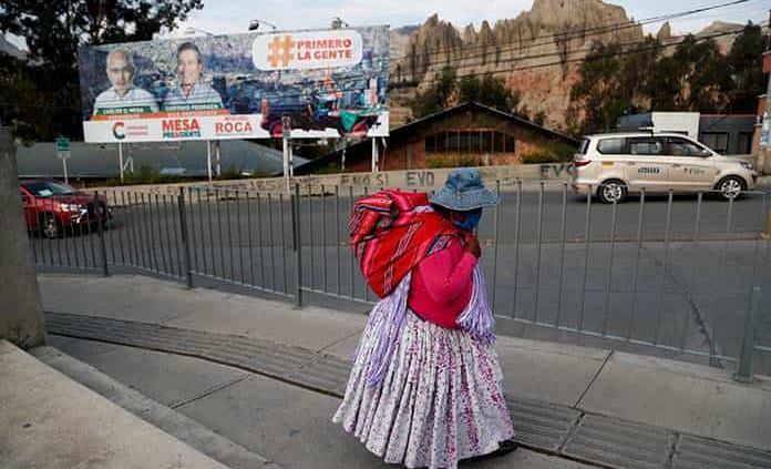 Suspenden el conteo preliminar en Bolivia