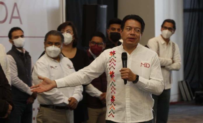 Candidato morenista para SLP no lo elegirán los mandos centrales: Mario Delgado