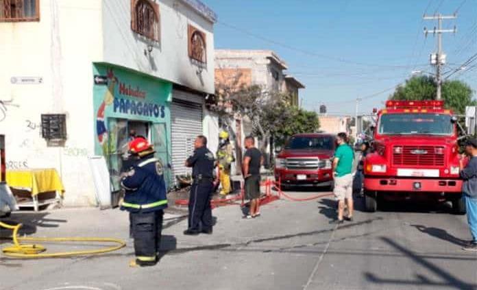 Rescatan a varios niños tras incendio en la colonia Progreso