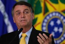Bolsonaro critica protestas contra el racismo