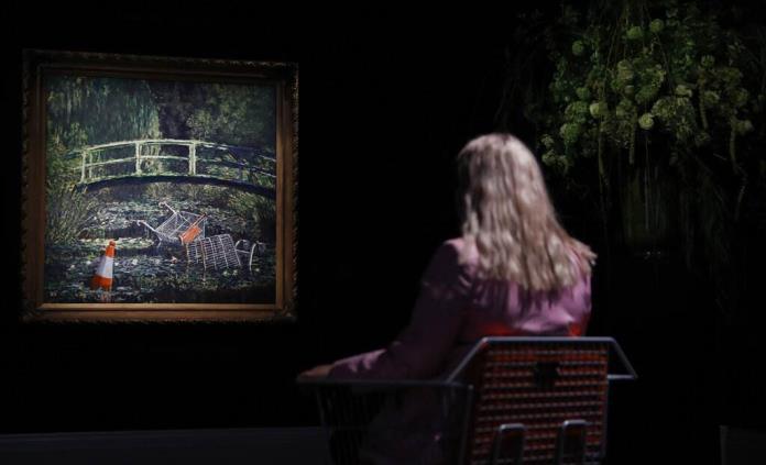 Se vende por 8.3 millones de euros una reinterpretación de Monet ejecutada por Banksy