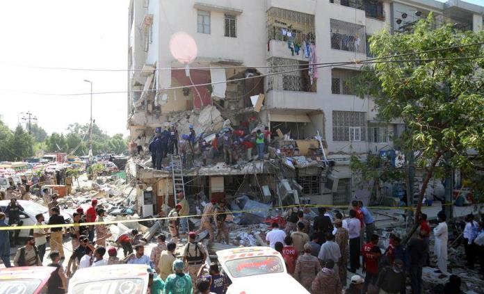 Al menos cuatro muertos y 23 heridos en una explosión en edificio en  Pakistán