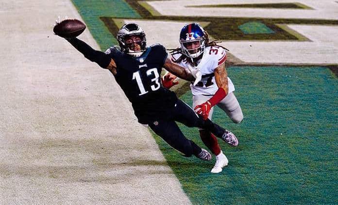 Eagles vencen con gran remontada ante Giants