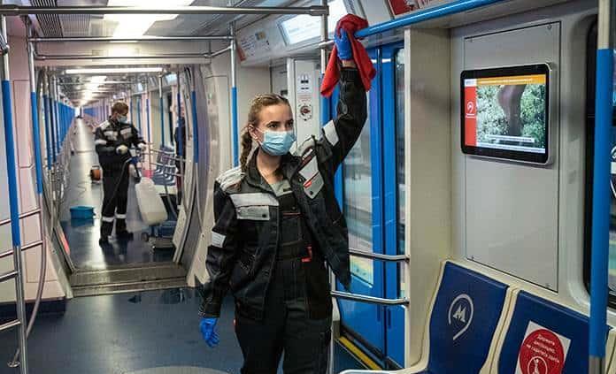 Rusia supera los 1.5 millones de casos de coronavirus