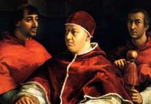 Rafael pintó íntegramente el retrato del papa León X, según Galería de los Uffizi