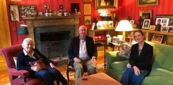 El rey emérito de Bélgica se reúne por primera vez con su hija recientemente reconocida
