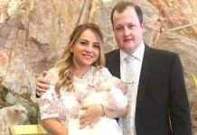 Marijó González Mezquida es bautizada