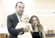 Elías Valencia Torres recibe con alegría el bautismo