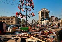 Irak retira tiendas en la Plaza Tahrir